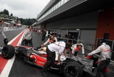 Test F1 a Spa, day 1: Hamilton primo