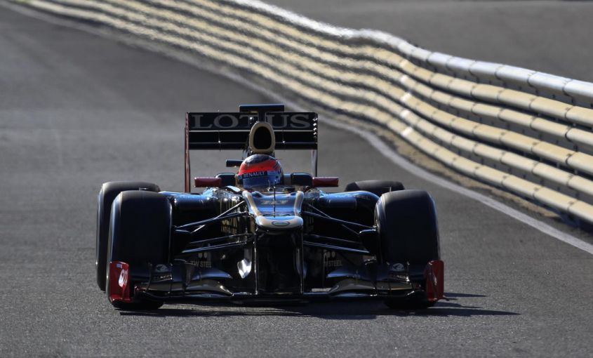 lotus, romain grosjean