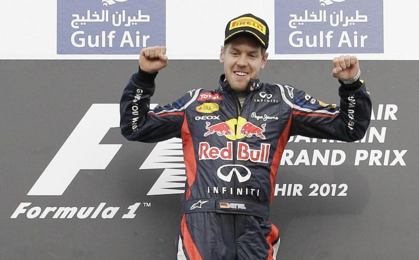 sebastian vettel primo in classifica dopo gp bahrain f1 2012