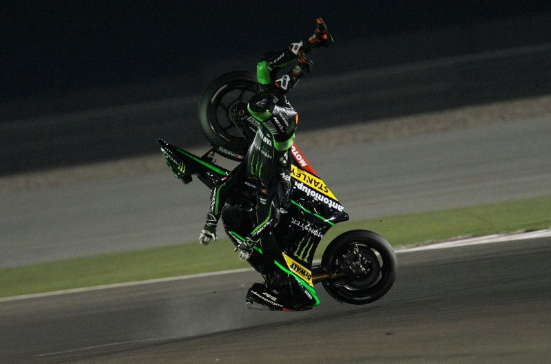 Bradley Smith Incidente Qatar