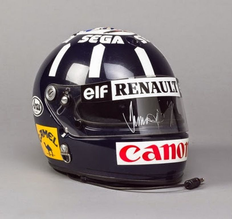 Casco Damon Hill
