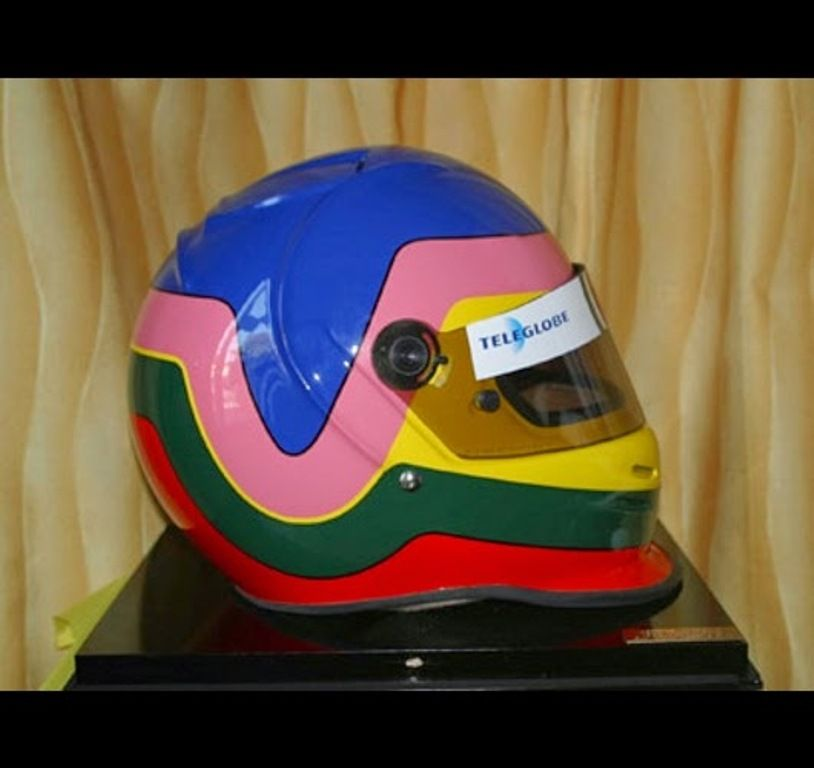 Casco Jacques Villeneuve
