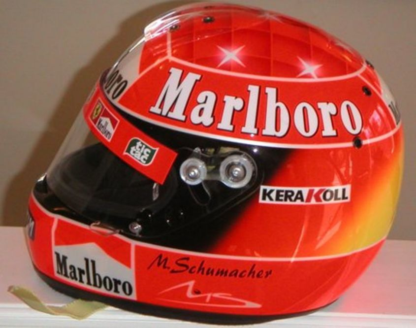 Casco Schumacher