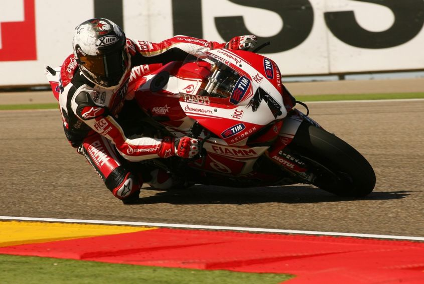 Checa Ducati SBK 2013 Aragon Superpole 1