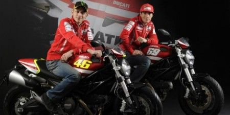 Ducati Monster rossi hayden
