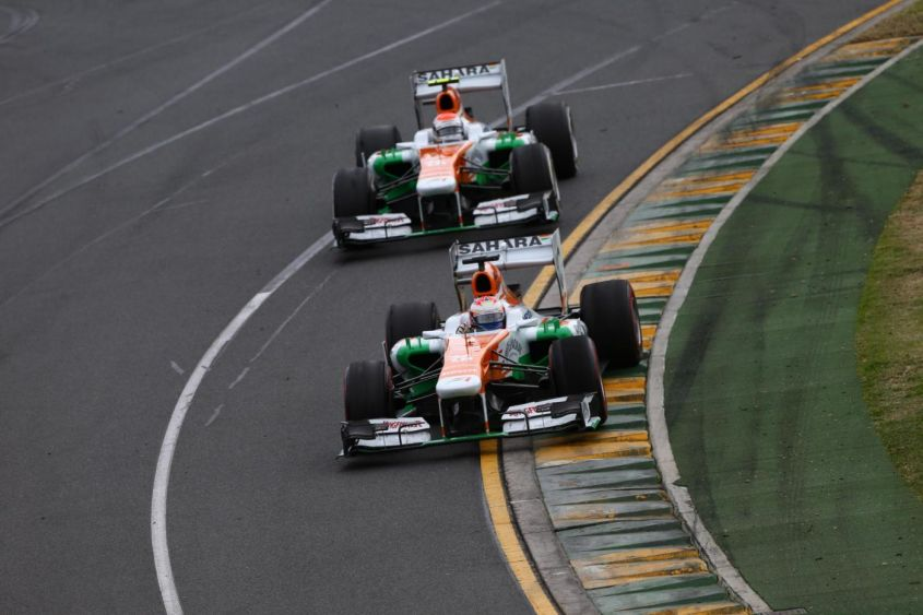 Force India GP Australia 2013
