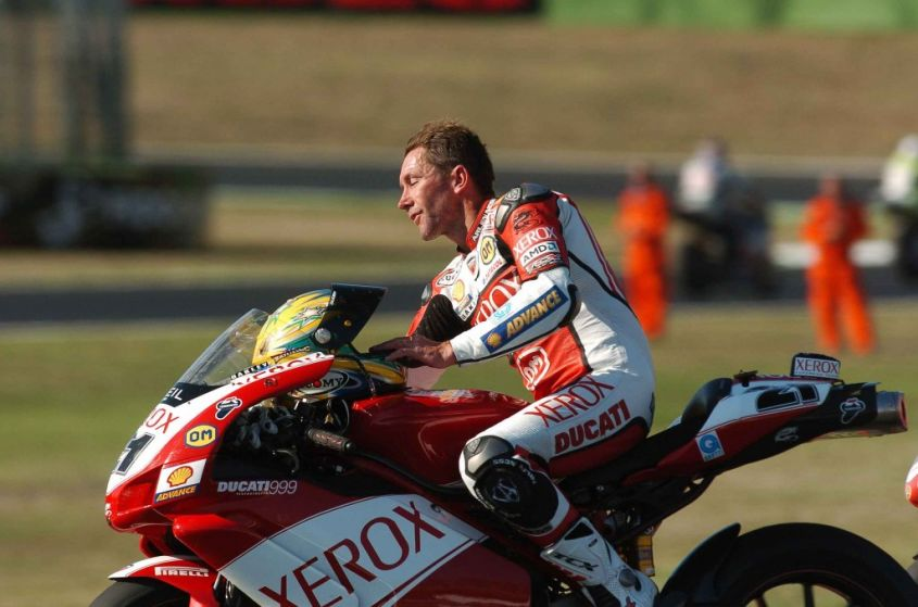 Portimao SBK 2008 Bayliss Champion