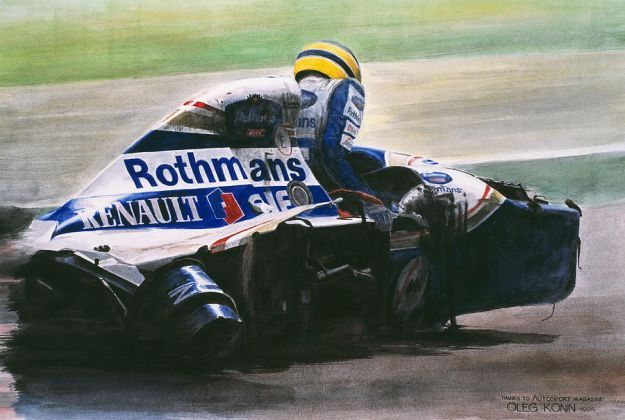 Senna dopo incidente imola 1994