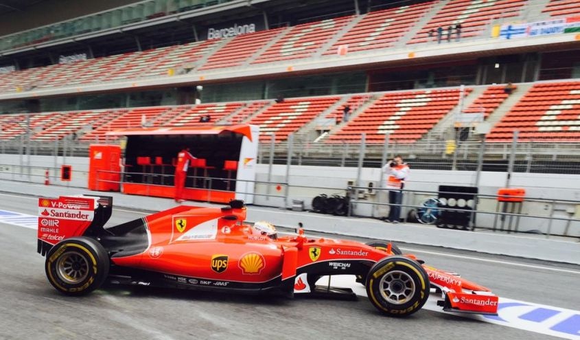 Test F1 2015 Barcellona (6)