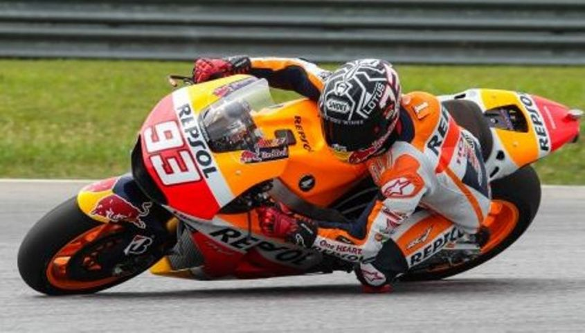 Test Sepang Day 1 , Marquez primo