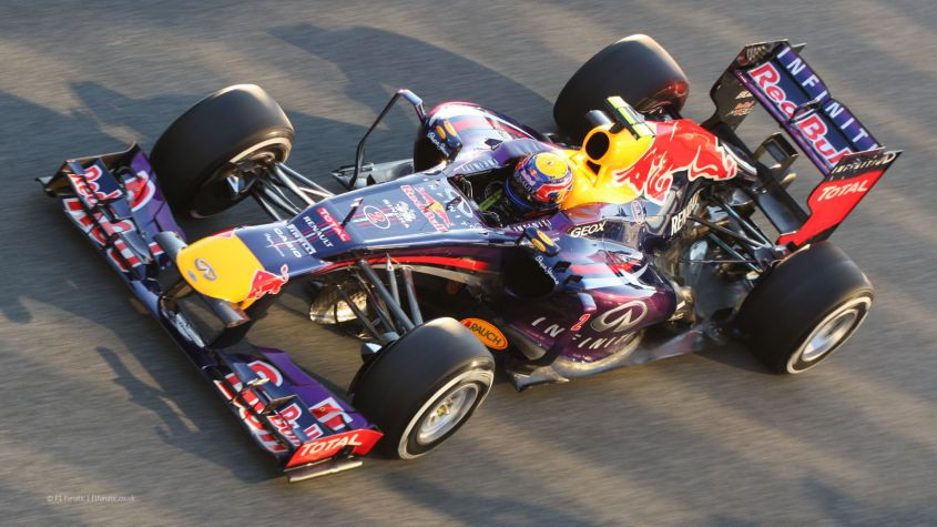 Webber, Red Bull