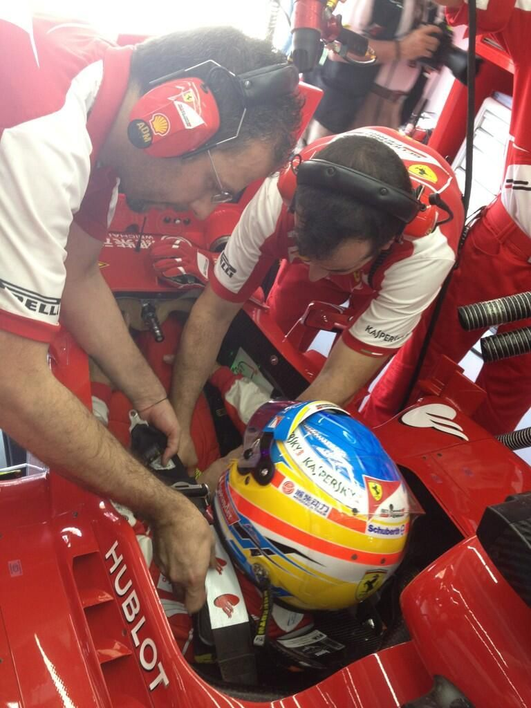 alonso qualifiche malesia 2013