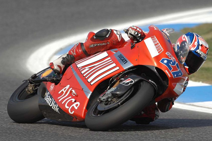 casey stoner Estoril 07