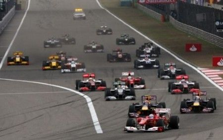 gp cina 2010 alonso partenza anticipata