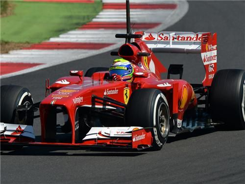 massa test silverstone
