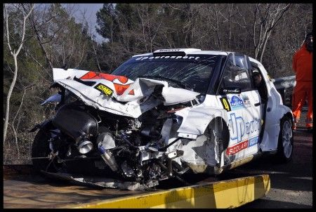 rally incidenti