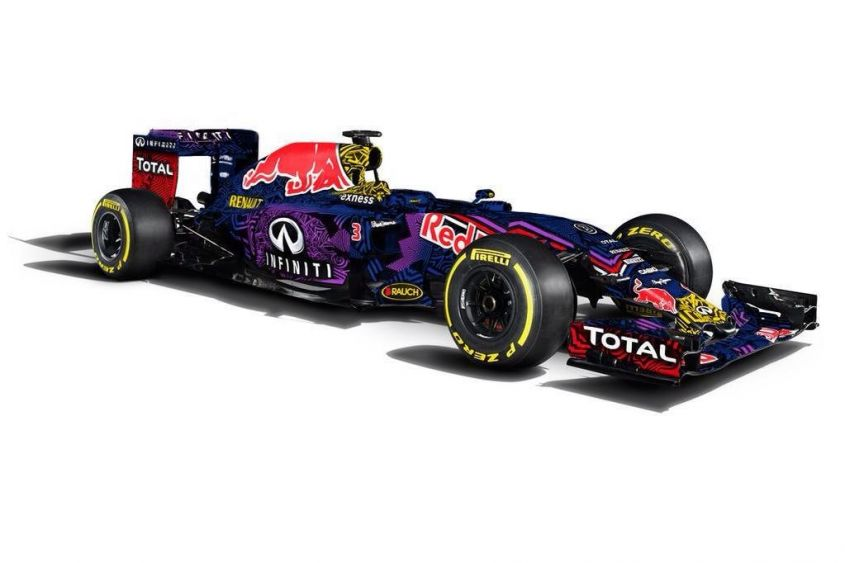 red bull rb11 2015 camuffata jerez