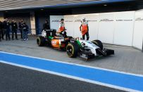 F1 2014, Force India: presentata la VJM07 a Jerez [FOTO]