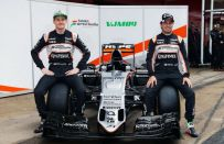 Nuova Force India F1 2016: presentata la VJM09