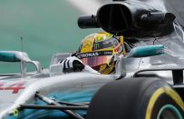 GP Brasile F1 2017, qualifiche Mercedes. Hamilton manca all'appello, Bottas risponde presente