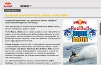 Red Bull Aqua Battle con Andrea Dovizioso
