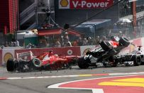 GP Belgio F1 2012, Ferrari: è grande il rammarico per l'incidente di Alonso [VIDEO]