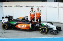 F1 2015, la nuova Force India VJM08 presentata in Messico [FOTO]