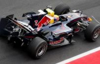 Test F1 a Barcellona del 03-02-2008: la pinna Red Bull porta Webber in vetta