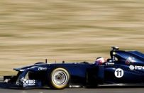 F1 2011, test a Jerez: Barrichello primo con la Williams, terzo Alonso