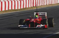 Test F1 2012, Barcellona day 4: Kobayashi in testa, Button quarto e Massa quinto