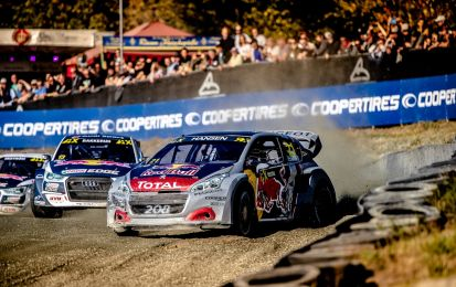 World Rallycross 2018: in Germania male le Peugeot, tra scontri e ritiri