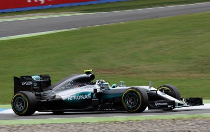 Qualifiche GP Germania F1 2016, risultati: Rosberg in pole, Ferrari delude  [FOTO]