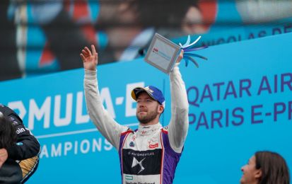 Formula E 2018: Sam Bird con DS Virgin sul podio anche a Parigi