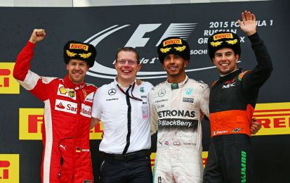 GP Russia F1 2015, Perez e Force India in paradiso