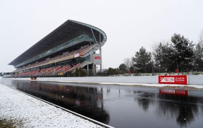 Test F1 2018, Day 3: neve a Barcellona, auto ferme!