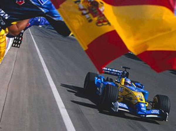 Alonso Hungaroring 2003
