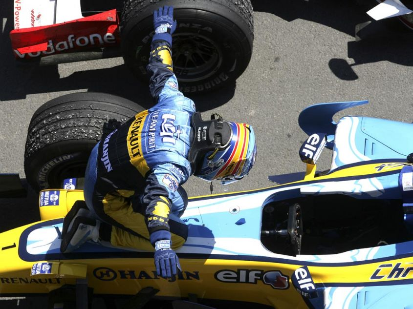 Alonso Renault Montreal 2006