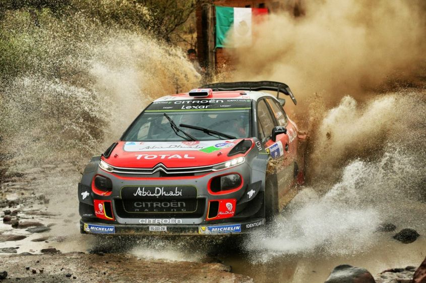 Citroen C3 WRC Rally di Messico 2017