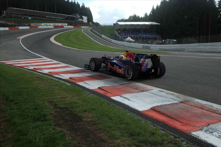 GP Belgio F1 2012: DRS vietato all'Eau Rouge