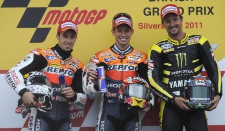 "MotoGP 2011, Edwards: ""Podio incredibile a Silverstone"""