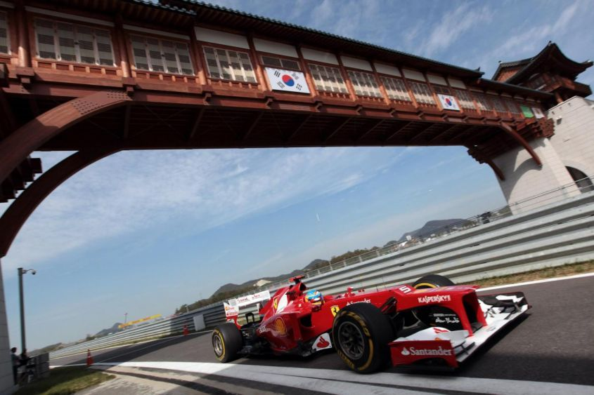 GP Corea F1 2012, prove libere: Alonso e Button possono insidiare Vettel [FOTO]