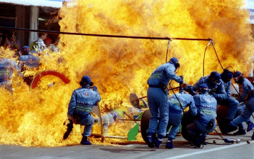 Incidente Verstappen GP Germania F1 1994