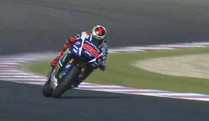 Lorenzo in pista