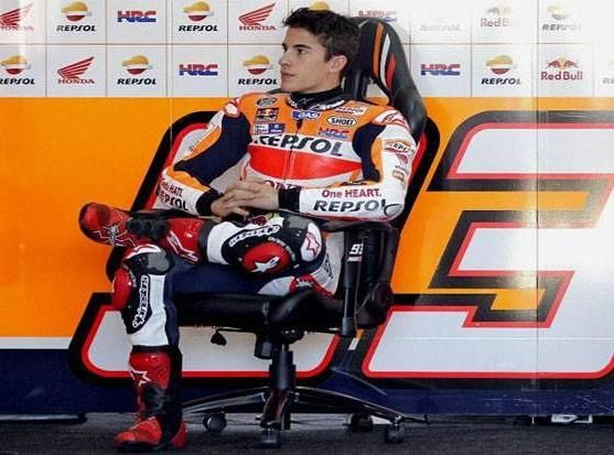 Marc Marquez Warm Up Misano MotoGP 2016