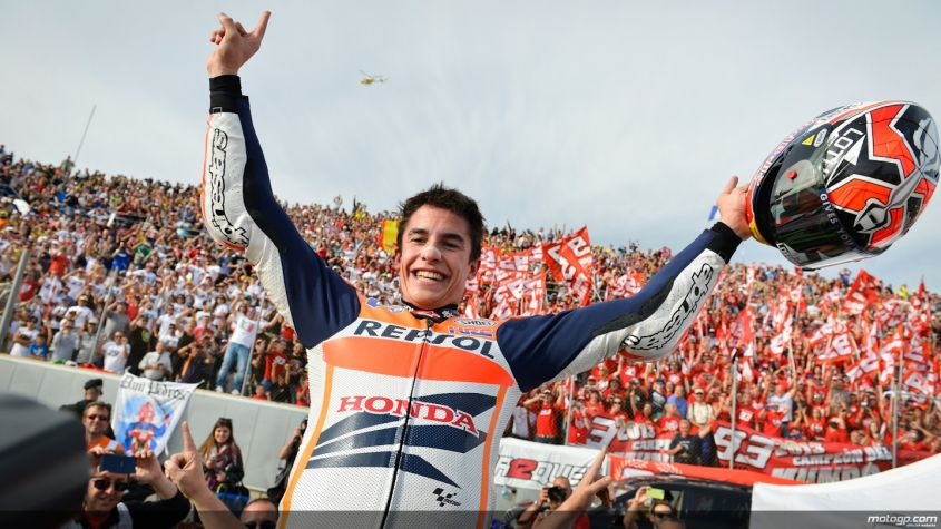 "MotoGP Motegi 2014, Marquez: ""festa? canto We are the Champions"""