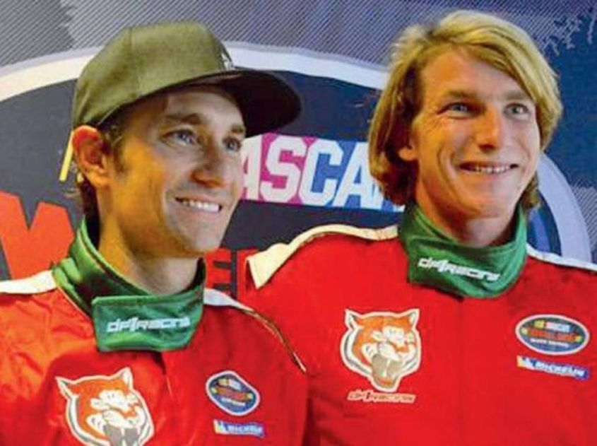 Mathias Lauda e Freddie Hunt