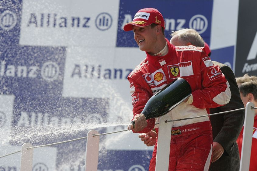 Michael Schumacher eletto