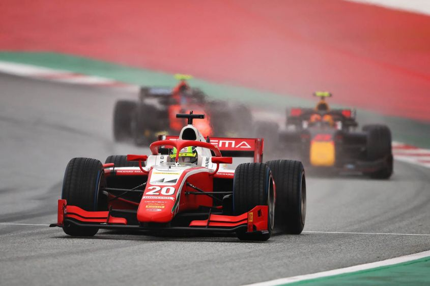 Mick Schumacher al GP di Stiria