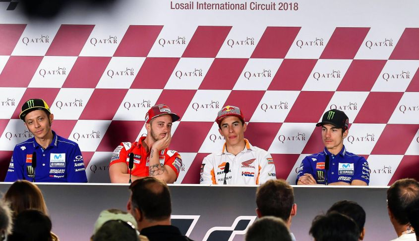 Motogp Qatar 2018: classifica piloti