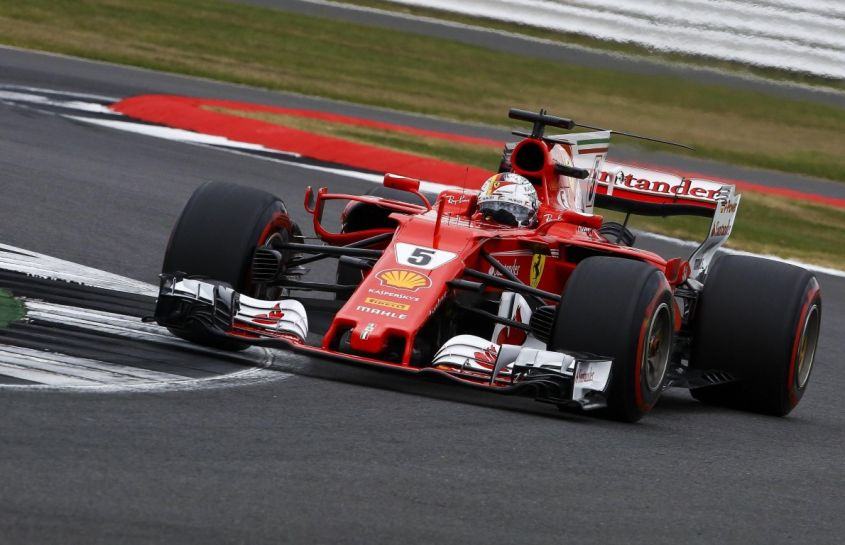 Formula One Grand Prix of Great Britain practice session